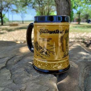 VTG Yellowstone National Park coffee mug